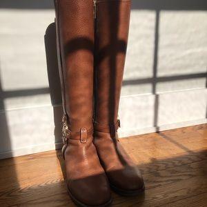 Brown Tory Burch riding boots sz. 8.5